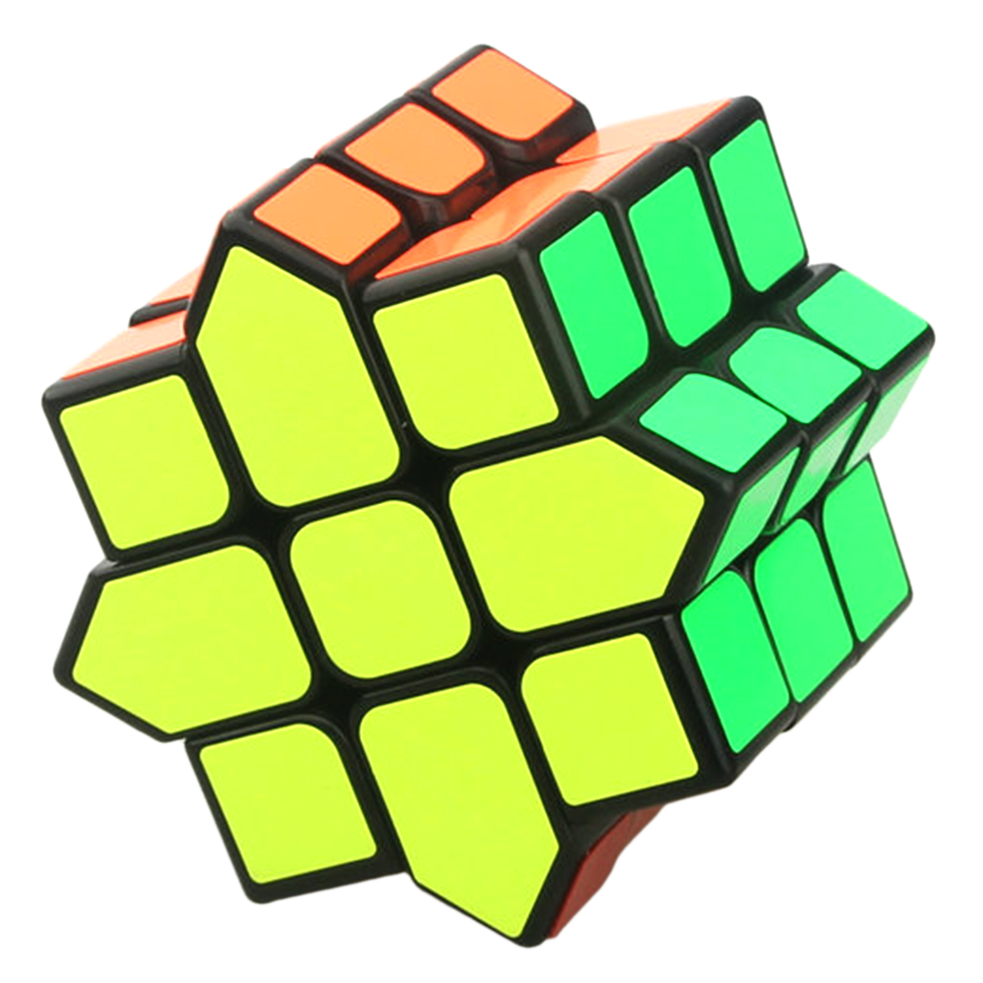 цена на Tise Anise Star Magic Puzzle Cube Speed Magic Cube Intelligent Gift Toys For Children - Black