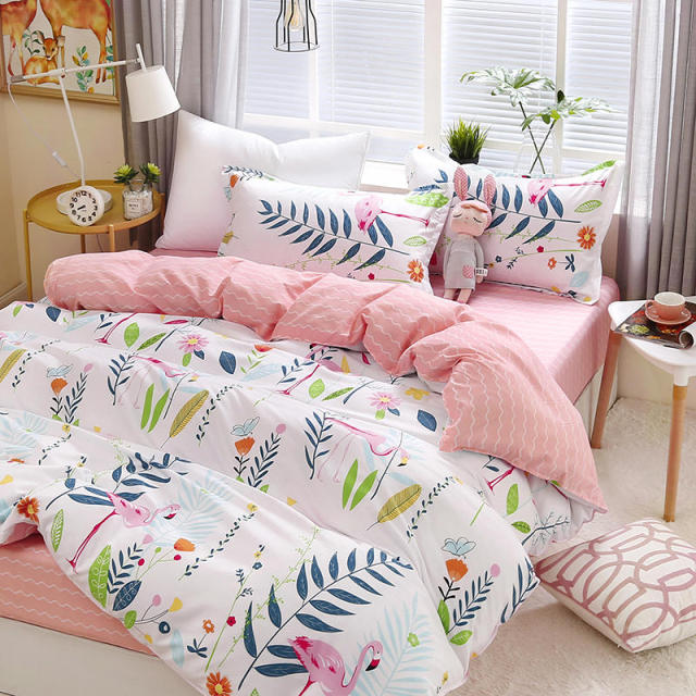 Elegant Floral Bedding Set