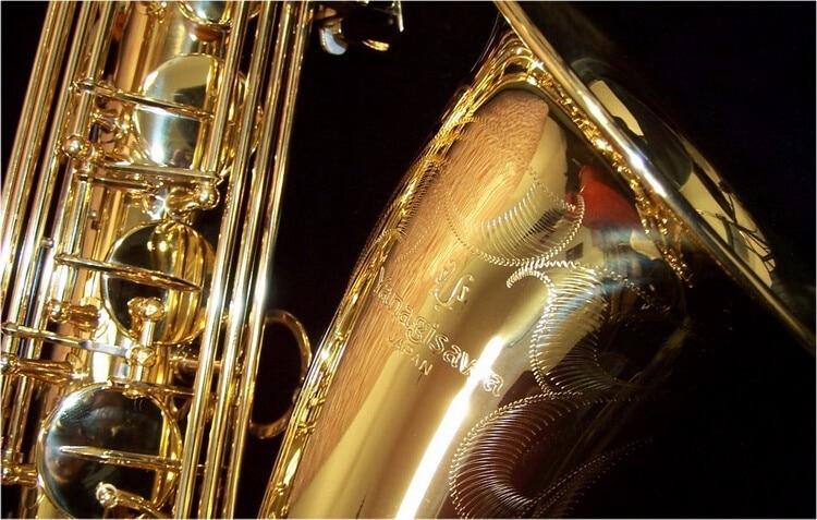 цена  YANAGISAWA Japan T-902 tenor saxophone tenor mouthpiece saxophone Bb professional Gold Lacquer with case,gloves and A series of  онлайн в 2017 году