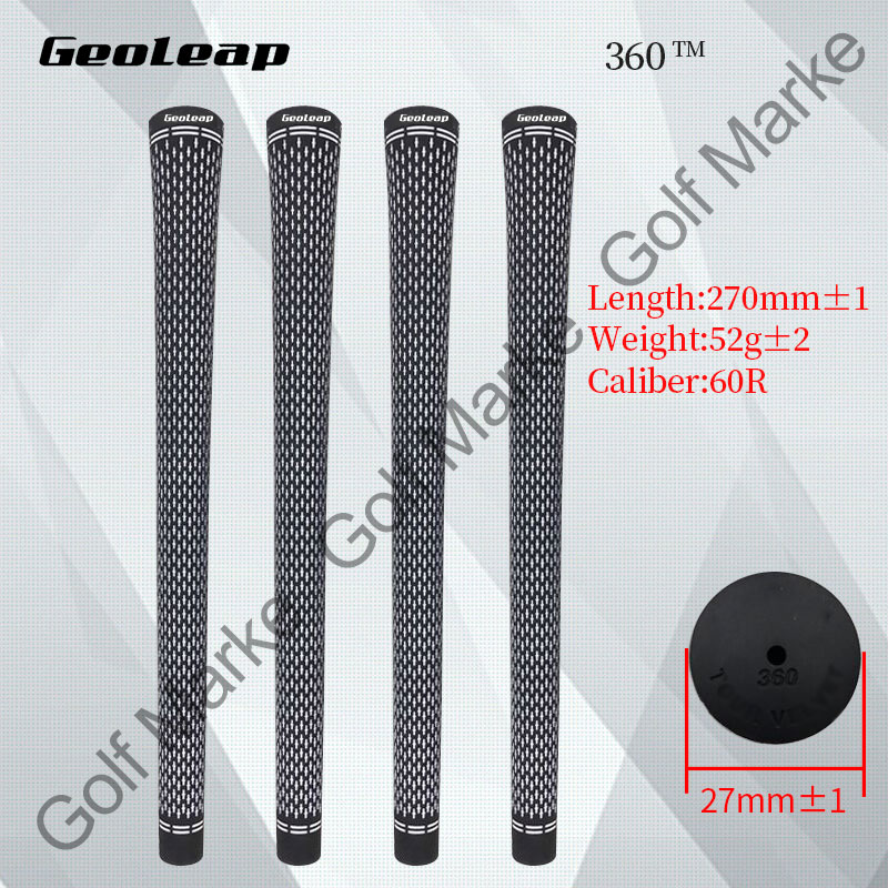 FREESHIPPING 100 points golf iron and wood grip TV 360 white oneSTANDARD 13pcs lot high quality