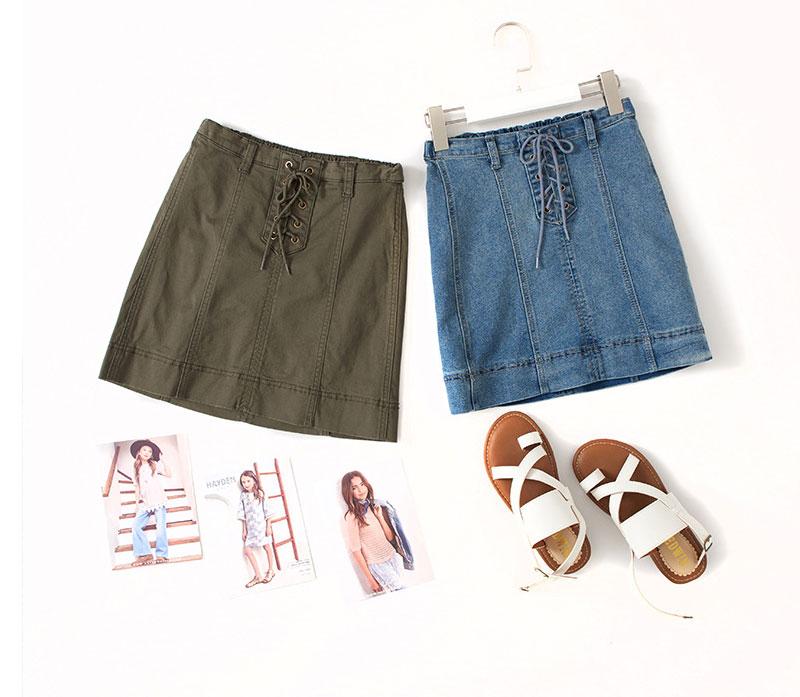 girls jeans skirt G2078-10