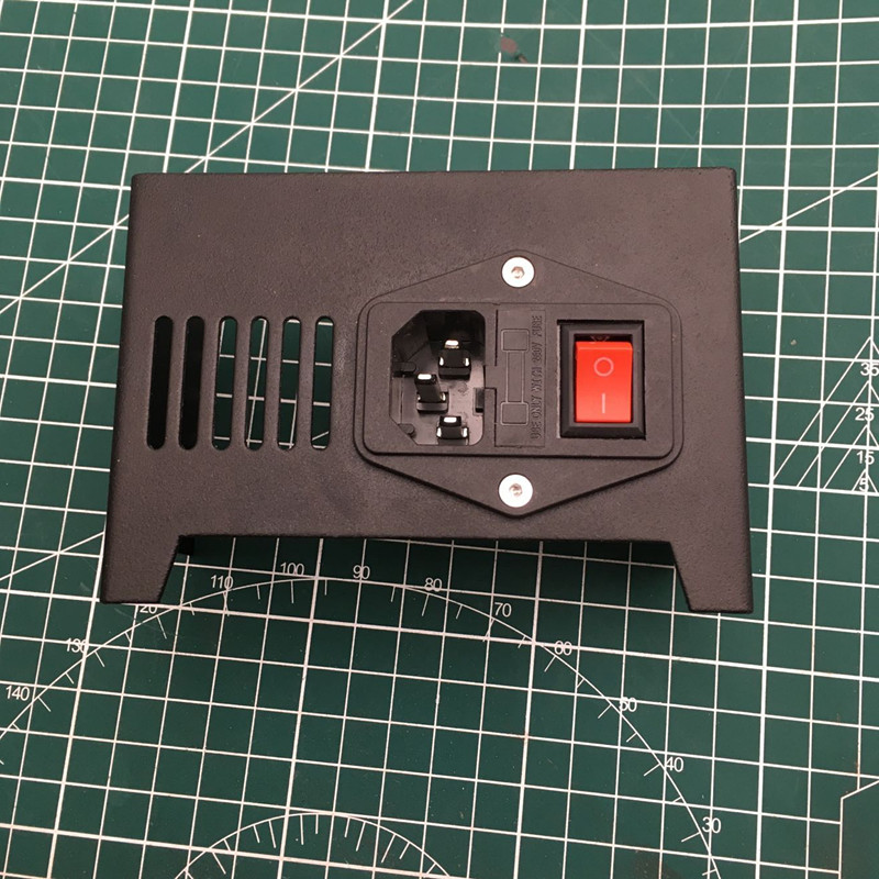 Anet A8 3D Printer Parts metal fused power siwtch cover Anet A8 Power Supply Cover with Switch