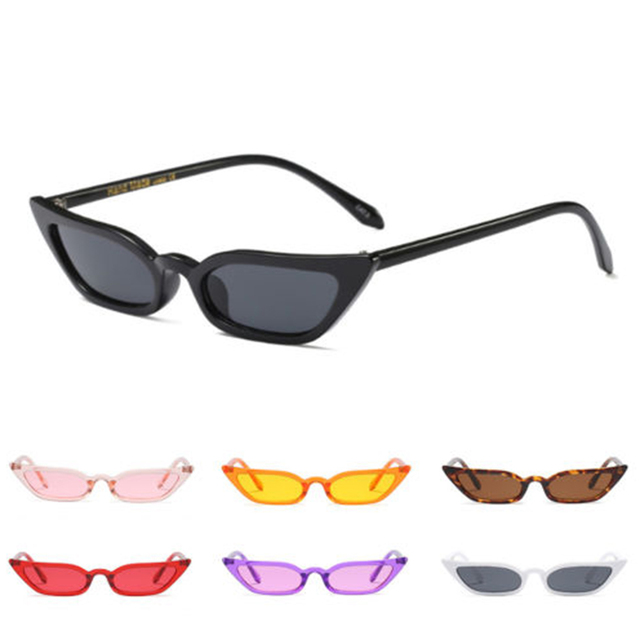 2f97e68684 SEKINEW Designer Women Cat Eye Sunglasses Small Vintage Eyewear Glasses  Shades UV400 Pop Driver Goggles