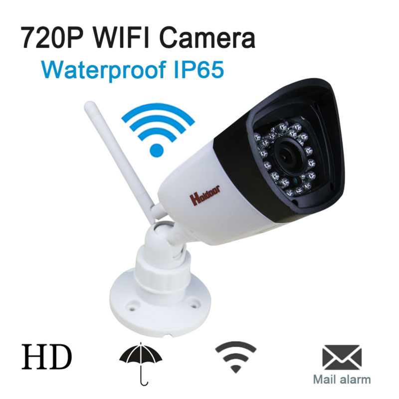 720P Mini ip camera Wireless Wifi Outdoor bullet waterproof IR night vision TF Card 12V CCTV Security Surveillance wi-fi Camera seven promise 720p bullet ip camera wifi 1 0mp motion detection outdoor waterproof mini white cctv surveillance security cctv
