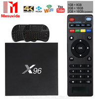 X96 TV Box Amlogic S905X Quad Core TV Box WiFi HDMI 2 0 KODI Smart TV