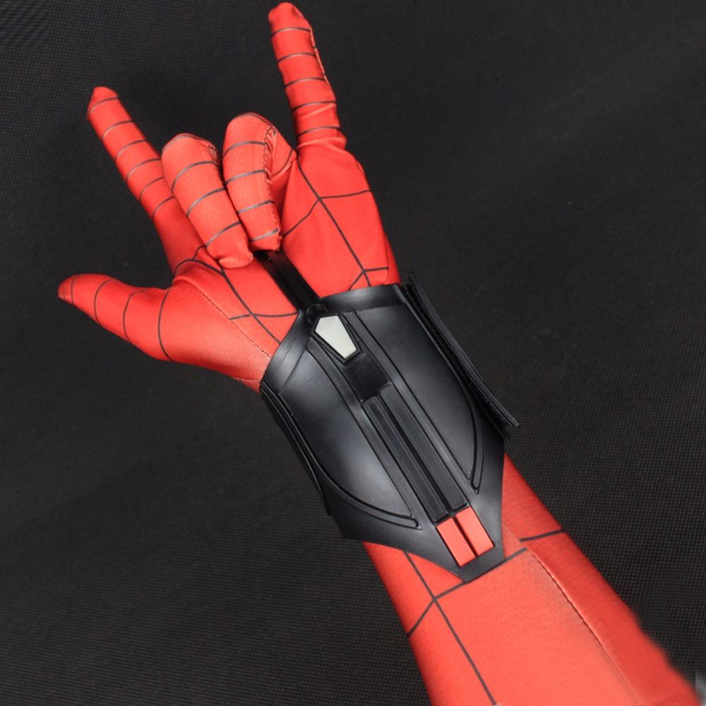 Spider Man Homecoming web shooter Decorate Cosplay Peter Parker Superhero Spiderman Halloween Props Accessories