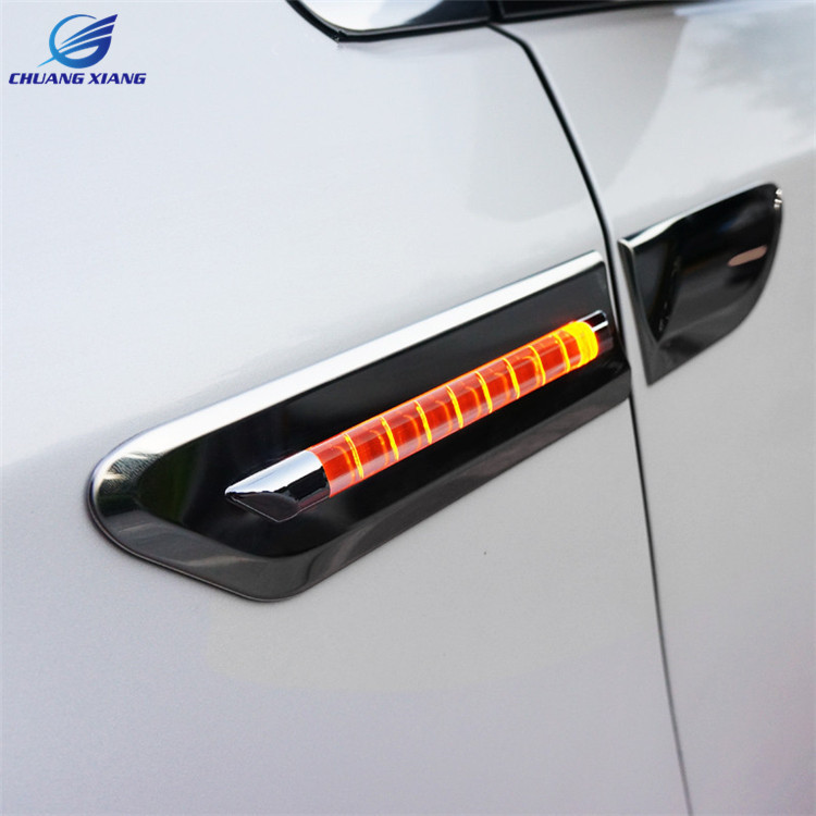 ChuangXiang Multi function Car LED Daytime running light Turn Signal Light Reflector For Toyota Sienna accessories