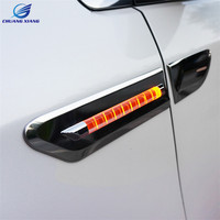 ChuangXiang Multi function Car LED Daytime running light Turn Signal Light Reflector For Toyota Sienna accessories 2011 2017