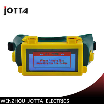 JOTTA brand Solar auto darke shading DIN9-DIN13 welder eyes mask helmet eyes goggle/welder glasses for ARC TIG  MIG welding mask darke