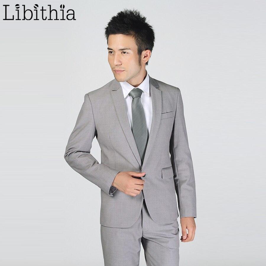 (Jakna + Hlače) Novi Muška Odijela Slim Tuxedos Marka Formalna - Muška odjeća - Foto 2
