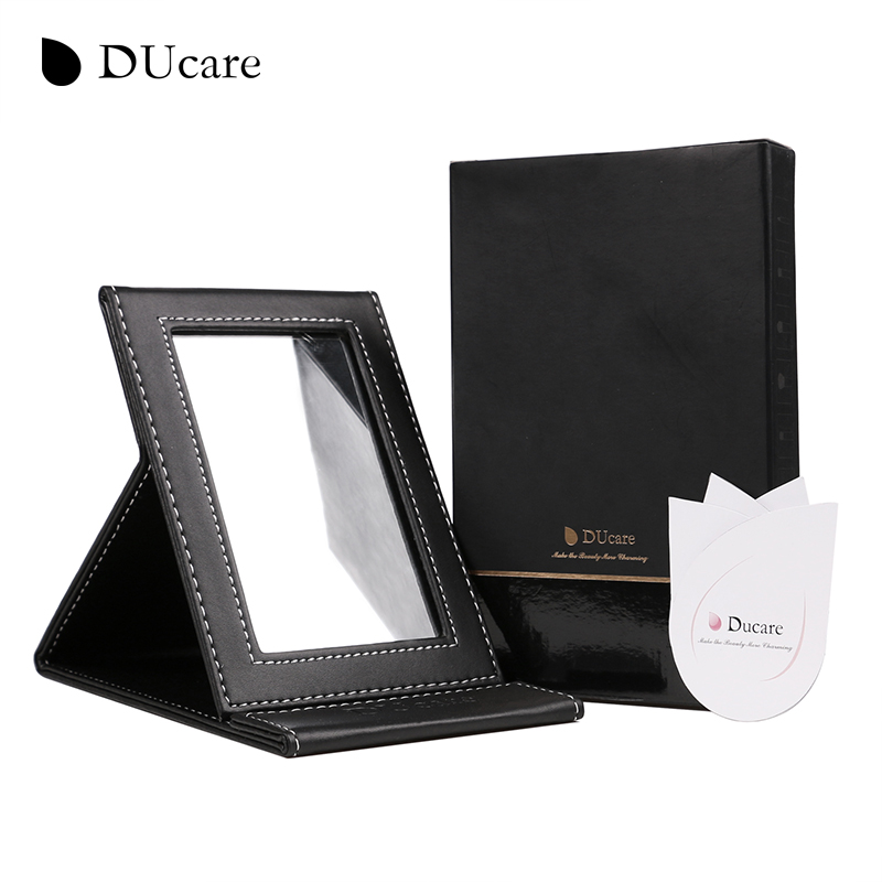 DUcare mini Tabletop Vanity Makeup Mirror Portable Folding Mirrors with  Standing high quality free shipping. Portable Vanity Table