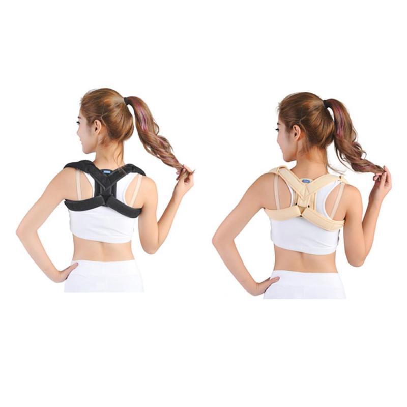 Back Shoulder Posture Corrector Adult Children Corset Spine Support Belt Correction Brace Orthotics Belt Adjustable put right U4