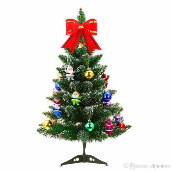 artificial christmas trees 60cm/23.6 inch christmas tree table with 6 packages decoration for home and office decoration free sh