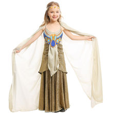 Детский костюм Клеопатры для девочек карнавальный принцессы