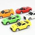 Brinquedos de desenvolvimento para crianças bolso toy hot Bonito Q versão do mini slide cor Brilhante de plástico modelo de carro crianças de presente de alta qualidade