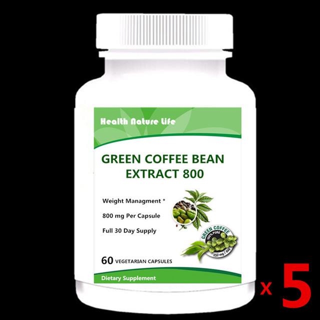 Green Coffee Bean Extract Supports Weight Loss All Natural Non