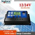 Freies Verschiffen!! 60A 50A 60A 30A 20A 10A DC 12V 24V Auto PWM Solar PV Batterie Ladegerät Solar Regler Solar PV Laderegler