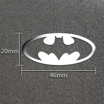 Auto Sticker -Batman 3D Bat personality stickers- Die Cut Vinyl Decal Bumper For Windows, Cars, Trucks, Laptops