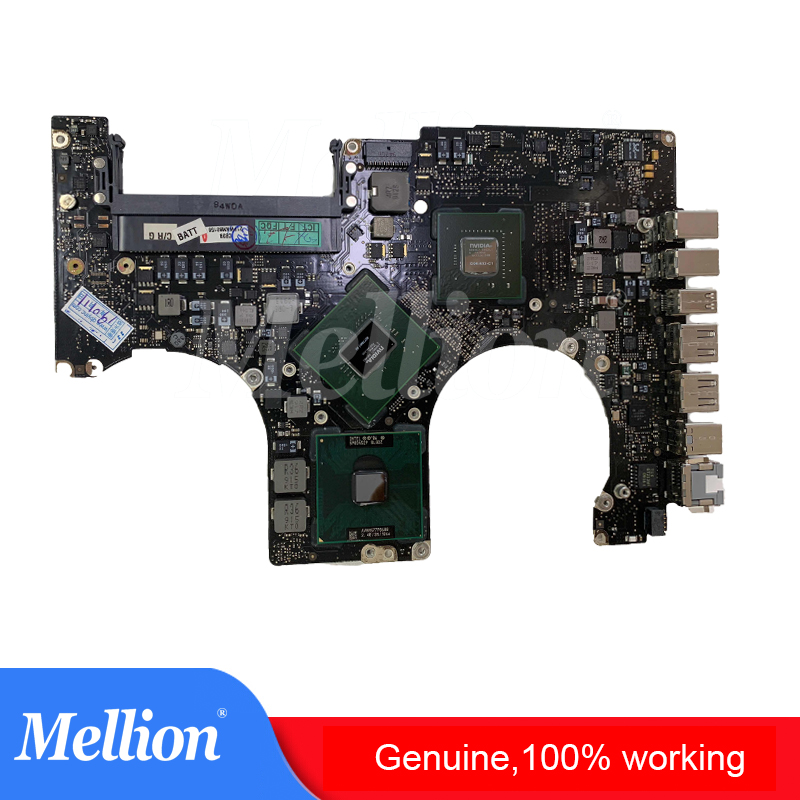 Genuine A1286 Motherboard for MacBook Pro A1286 Logic Board 15 2008 2012 Year All Models i5 2.4 GHz to i7 2.6GHz 100% Working