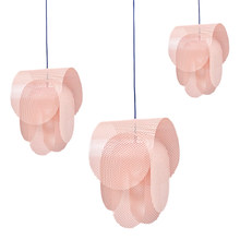 SUPERPOSE Pendant Lamp Nordic Pink Simple Pendant Lights E27 Modern Creative Hanging Lamp Design DIY For Bedroom Living Room(China)