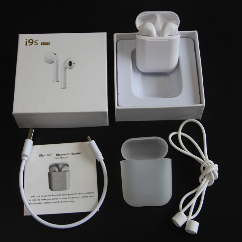 Mini Size IFANS TWS I9S Wireless Earphone Bluetooth 5.0 Binaural Call Earbuds With Mic For iPhone 6 8 7 Samsung xiaomi huawei
