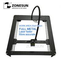 ZONESUN FULL METAL 2500mw Mini DIY Laser Engraving Engraver Machine Laser Printer Marking Machine Laser Fasrer More Accurate