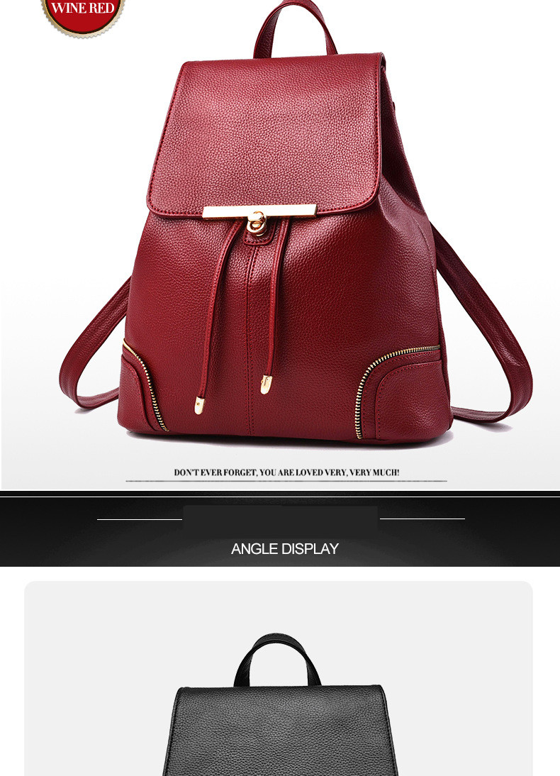 New travel backpack Korean woman backpack casual school bag for teen girl  top backpack pioneer fashion Q3 d0906b32cf3ef