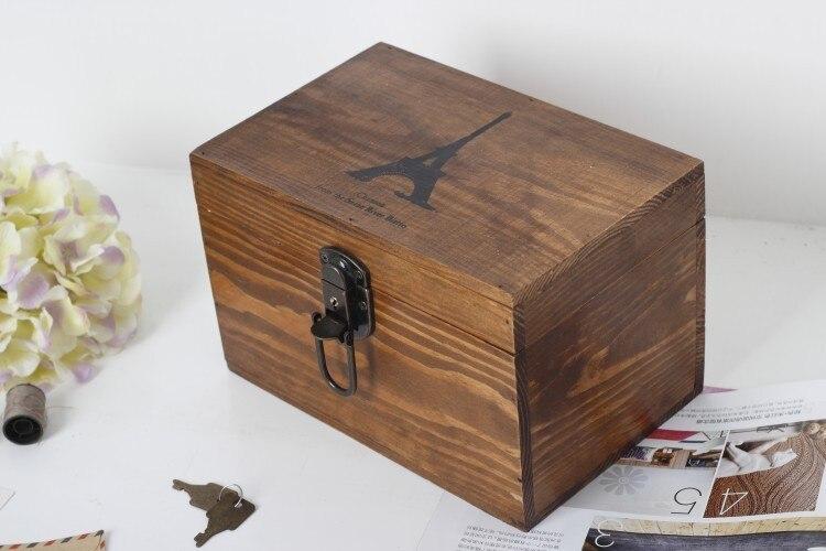 Ichiban de madera antigua casa vivienda moda retro ZAKKA adornos de