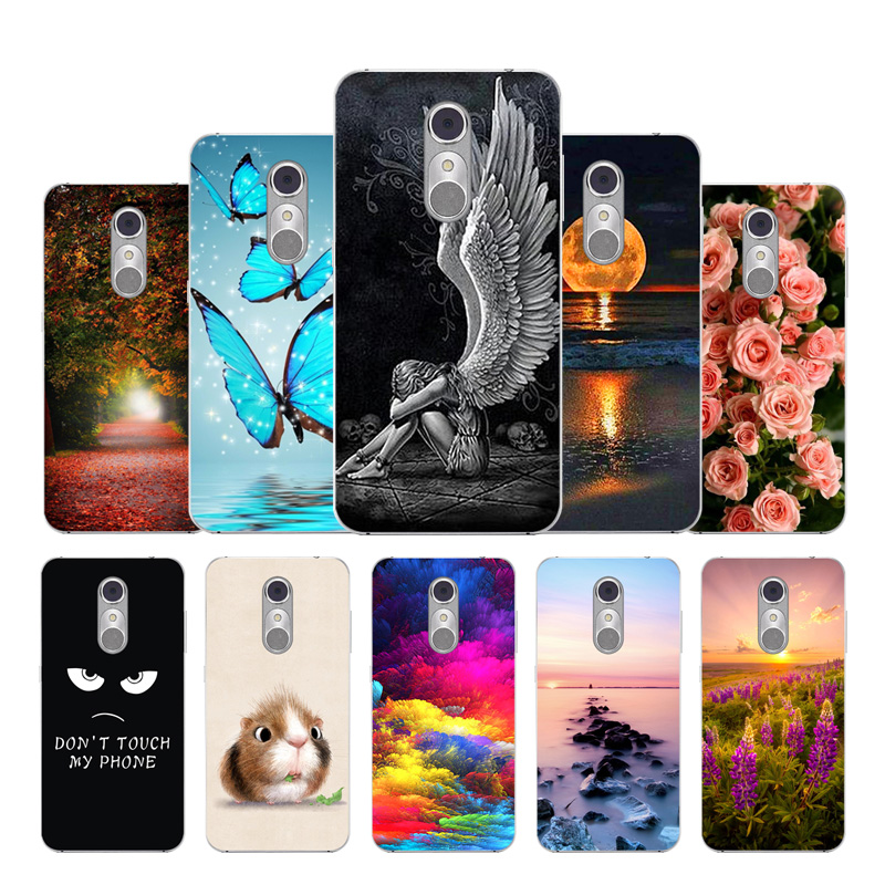 Silicon Phone Case For ZTE Blade Cute fashion Painted phone case A910 BA 910 BA910t Cover Skull Head Naruto a910