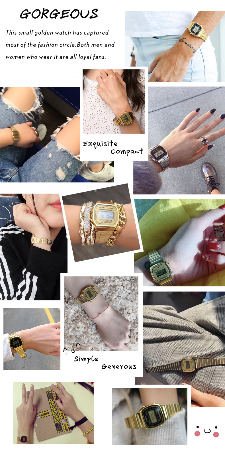 bayan zegarek impermeable oro 2