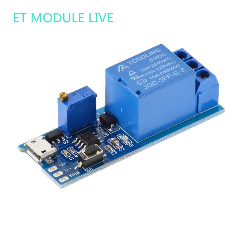 DC 9V/12V/24V 5-30V Delay relay shield Delay Relay Timer Module Timer Switch Adjustable Module dc 12v relay multifunction self lock relay plc cycle timer module delay time switch