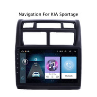 ECTWODVD 9inch Android 8.1 Car Radio GPS Navigation Multimedia Stereo DVD Player for Kia Sportage 2007 2008 2009 2010 11 2013