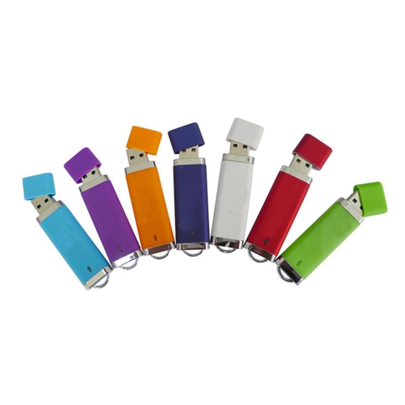high quality lighter shaped usb 2.0 memory stick plastic rectangle usb drive 128 gb for windows