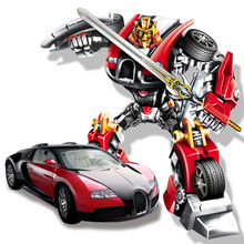 Remote control car,A key control deformation car people,Deformation of the robot,Children's toys