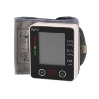 CK W132 Touch Wrist Blood Pressure Monitor Watch Medical Arm Meter Pulse Top Qualiy