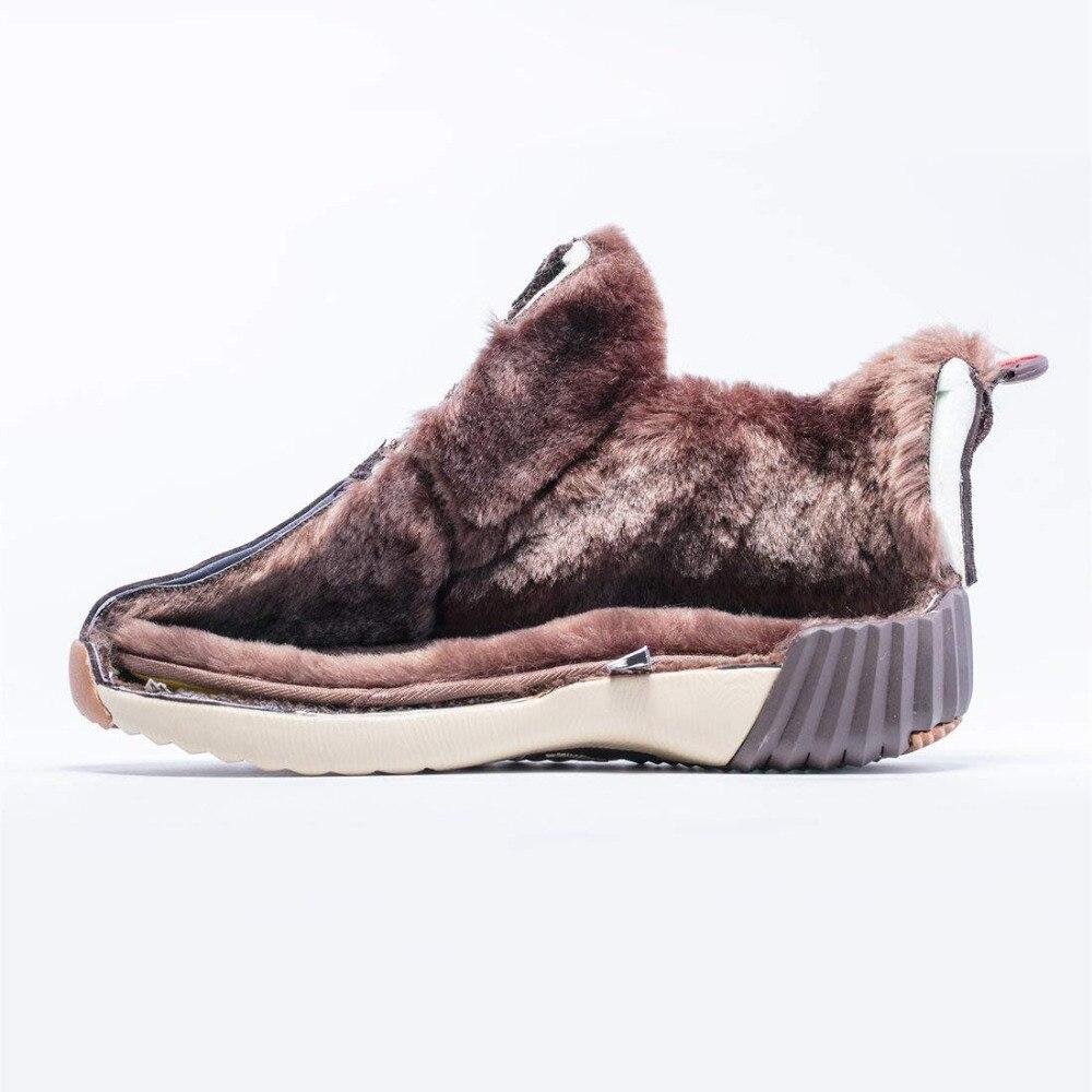 ONEMIX Vandtæt Snow Boots Kvinder Sneaker Mænd Trainers Walking - Kondisko - Foto 2