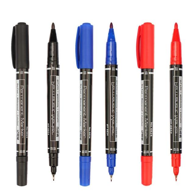 Envío Gratis 3 color Rotuladores Buena Prueba de Agua Tinta Fina Nib ...