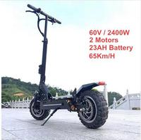 201811 дюймов внедорожный электрический скутер 60 В в 2400 Вт 65 км/ч/сильный Мощный Новый складной электрический велосипед складной hoverboad велосип...