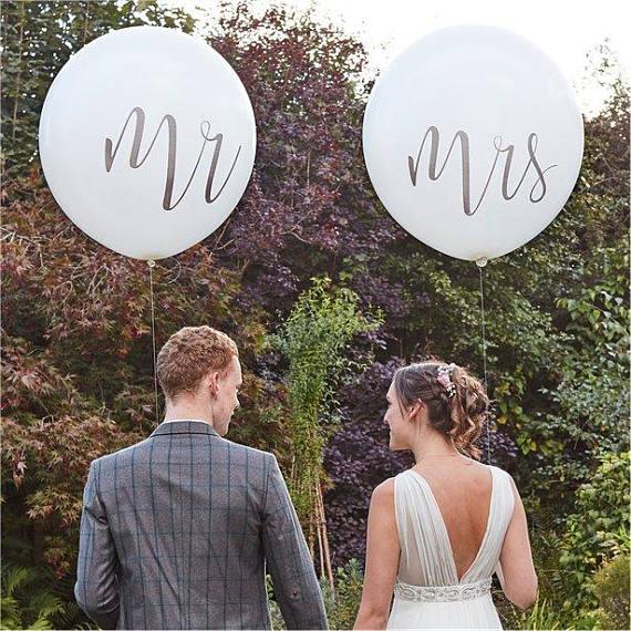 10 шт./лот 10 дюймов Mr Mrs шар Just Married шар hello Детские воздушные шары Свадебная вечеринка новобрачных украшения для душа