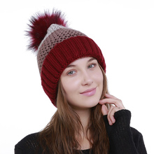 Fashion Matching Curling Caps For Women Cap Winter Beanies Warm Wool Ball Cap Skullies Knitted Girls Lovely Cute Hats