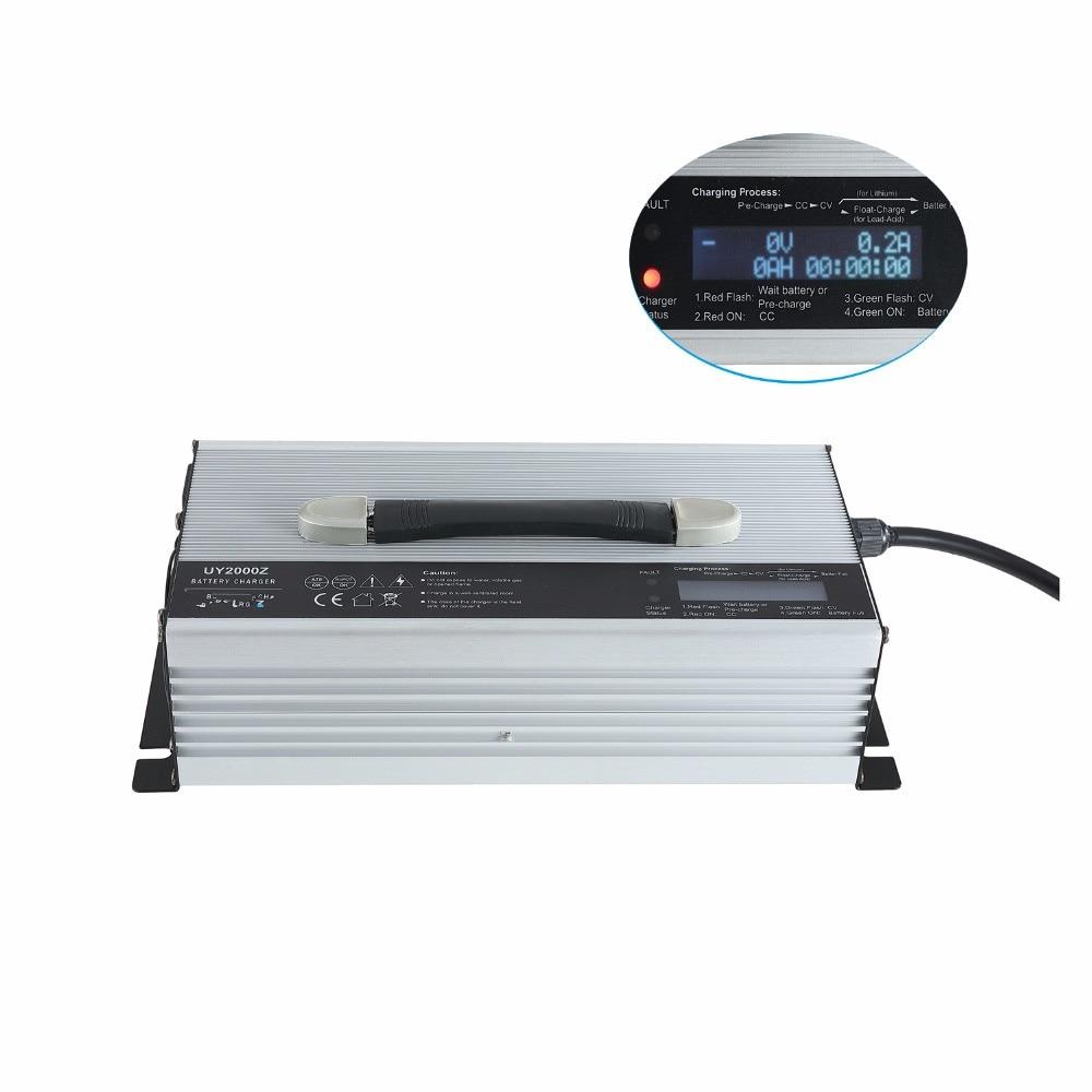 48v 30a 35a lithium / lifepo4 / lead acid battery charger for EV аккумуляторная батарея bik lifepo4 38120s lifepo4 48v 10 40