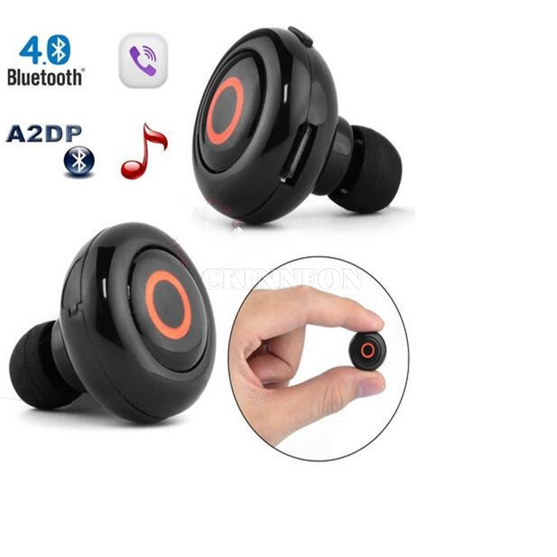 Klug Dhl 50 StÜcke Neue Ankunft Mini Kleinste Musik Kopfhörer Anrufe Freisprecheinrichtung Stereo Bluetooth Mini Kopfhörer Headset Offensichtlicher Effekt