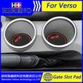Car accessories for 2011-2016 Toyota Verso anti slip sticker gate slot pad door mats carpet Interior Door Cup Holder