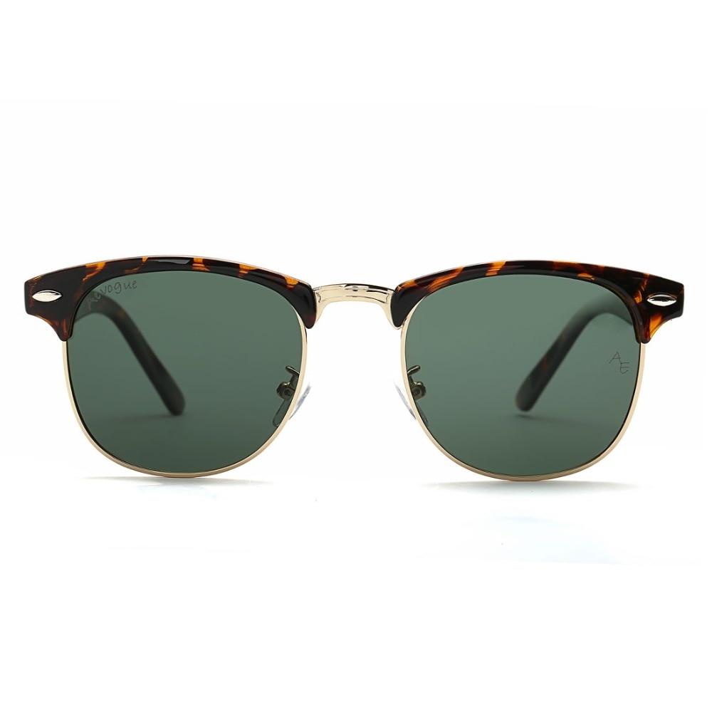 AEVOGUE Polarized Sunglasses Lelaki Retro Rivet High Quality Polaroid - Aksesori pakaian - Foto 5