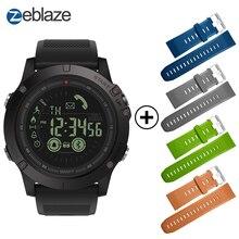 Горячие Zeblaze VIBE 3 флагман прочный Smartwatch 33-месяц в режиме ожидания 24 h всепогодный мониторинга Смарт-часы для IOS и Android