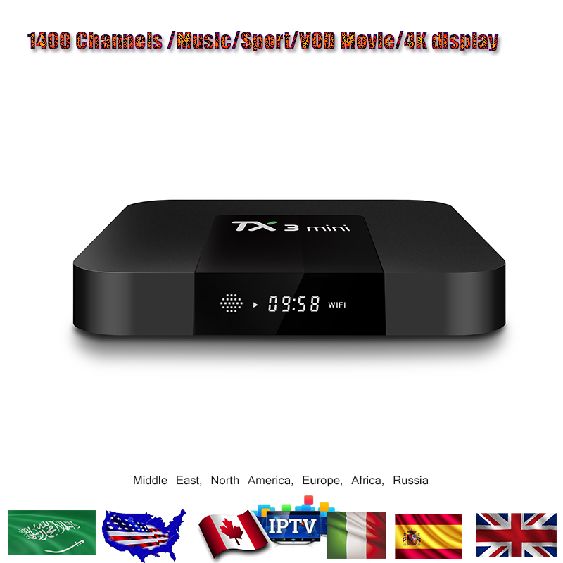 TX3 MINI Android 7.1 Set Top Box With Amlogic S905W up to 2.0 GHz, Quad core ARM Cortex-A53 TX3 MINI TV BOX