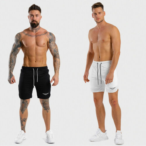 New Mens Casual Breathable Shorts Football Quick-drying Fit Park Training Gym Running Jogging Sports Shorts