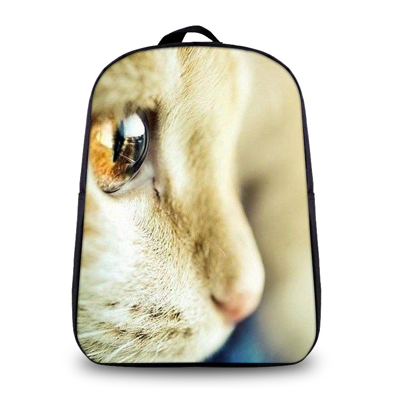 Cute Women Backbag 3D Animal Backpacks Cat Printing School Bagpack for Girls Students Childrens School Student Daily Backpack