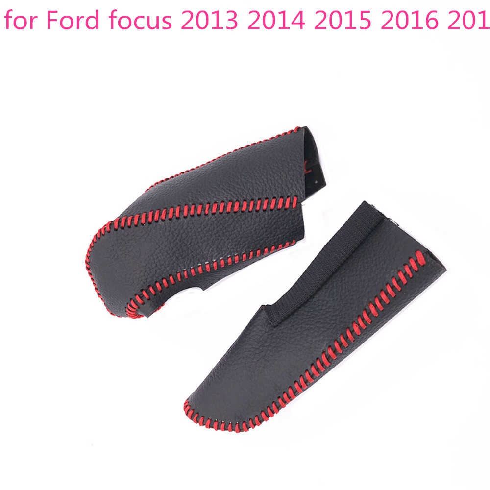 Buy Car Automatic Transmission Gear Shift Knob 2014 Ford Focus Slipping Cover Handbrake Grips For 2013 2015 2016 2017 From Reliable