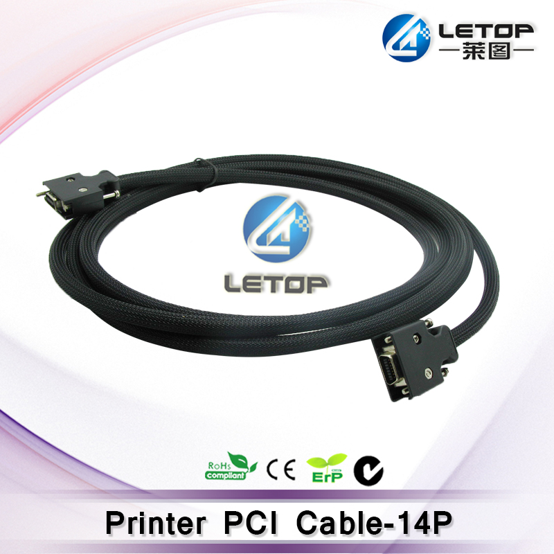 High Quality!! allwin 5meter printer 14pin PCI cable ( Length:9M)